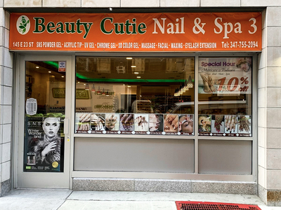 Cutie nail and Spa 3, Downtown nails near me, appointments online