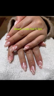 luxury nails, gel nails, dip nails