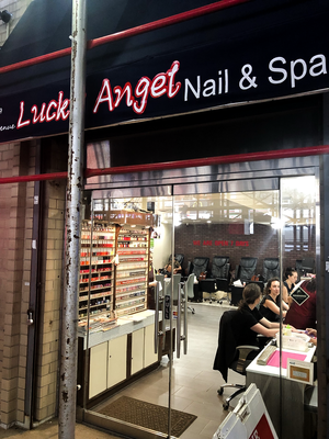 Lucky Angel Nails & Spa, Downtown nails near me, gel nails, beauty service