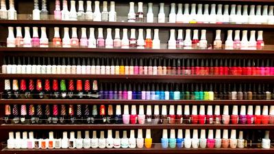 no chip manicures near me, downtown pedicures, bright colors
